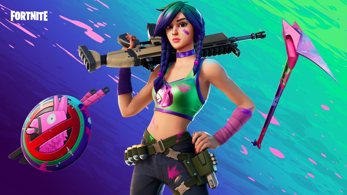 Fortnite On Twitter Grab Some Paint And Get Ready To Make A Splat This Artist Doesn T Need A Canvas So Watch Your Back Get The Splatterella Outfit In The Item Shop Now Последние твиты от fortnite competitive (@fncompetitive). fortnite on twitter grab some paint