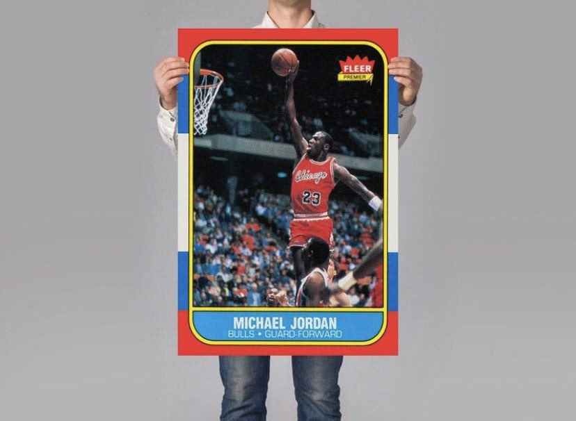 🚨 MJ GIVEAWAY  To Enter for MJ Fleer Card:  1️⃣: RT tweet 2️⃣: Follow @ActionNetworkHQ  Winner announced on Sunday night's Buyer's Market at 9p ET!