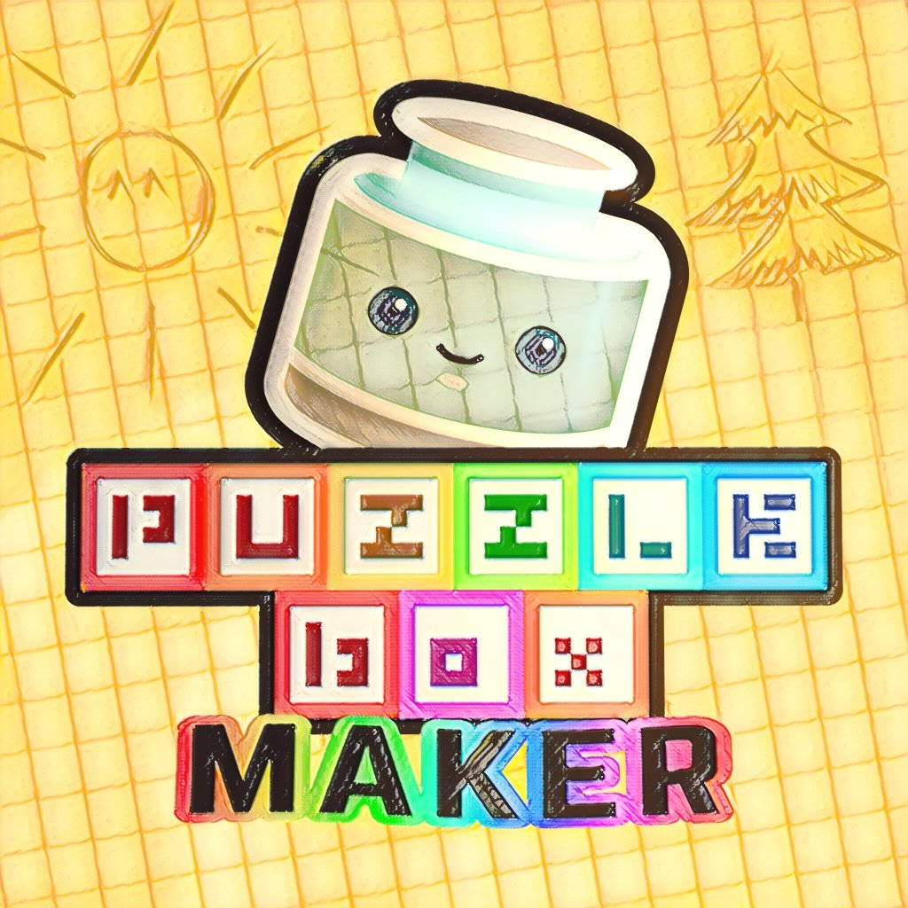 Puzzle Box Maker makes more out of your creativity! It is now available on Nintendo Switch eShop for only 14.99 ❤️🌈🖼🎮 https://t.co/tRZBvhaIfn #indiedev #gamedev #ITRTG #Nindie #madewithunity #NintendoLife #PixelArt #8bitart #familygames #creativity #multiplayer #retro #colors https://t.co/Qeknlcq1ZM