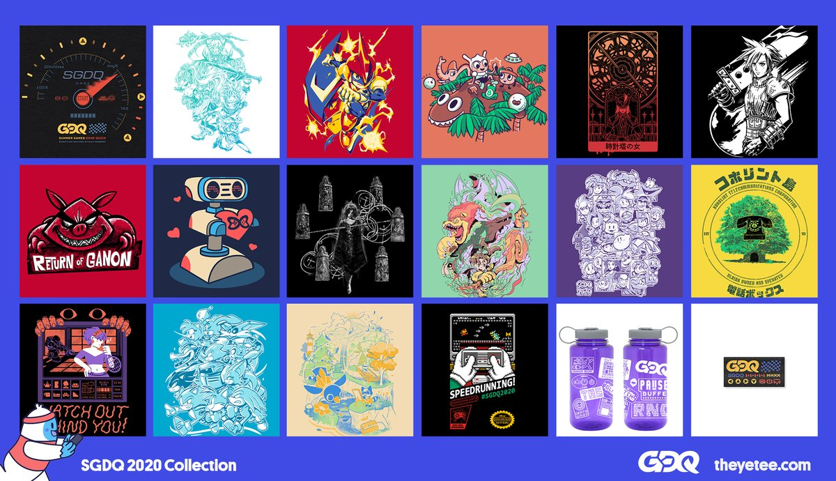 The Yetee On Twitter New Our Sgdq2020 Collection Is Now Live We Ve Got A Slew Of Awesome Designs And Colorful Goodies All Available Now Until Midnight On The 23rd Check Out 0 ответов 1 ретвит 7 отметок «нравится». twitter