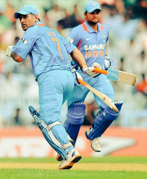We will miss you #MSDhoni, #SureshRaina.   Thank you for showing us some great innings. I wish you both all the success in your next innings! @msdhoni @ImRaina https://t.co/vJFGckV3pe