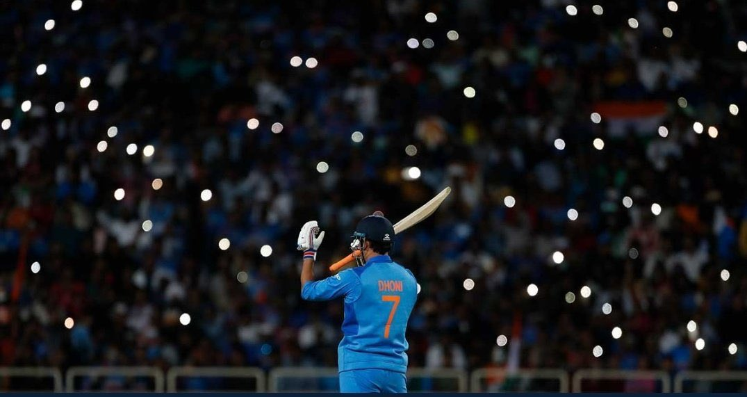 Thank you @MSDhoni sir for making cricket a fun experience. You'll remain an icon who will inspire generations to come! 🙌🏻💥 #ThankYouDhoni https://t.co/4KeduH46AE