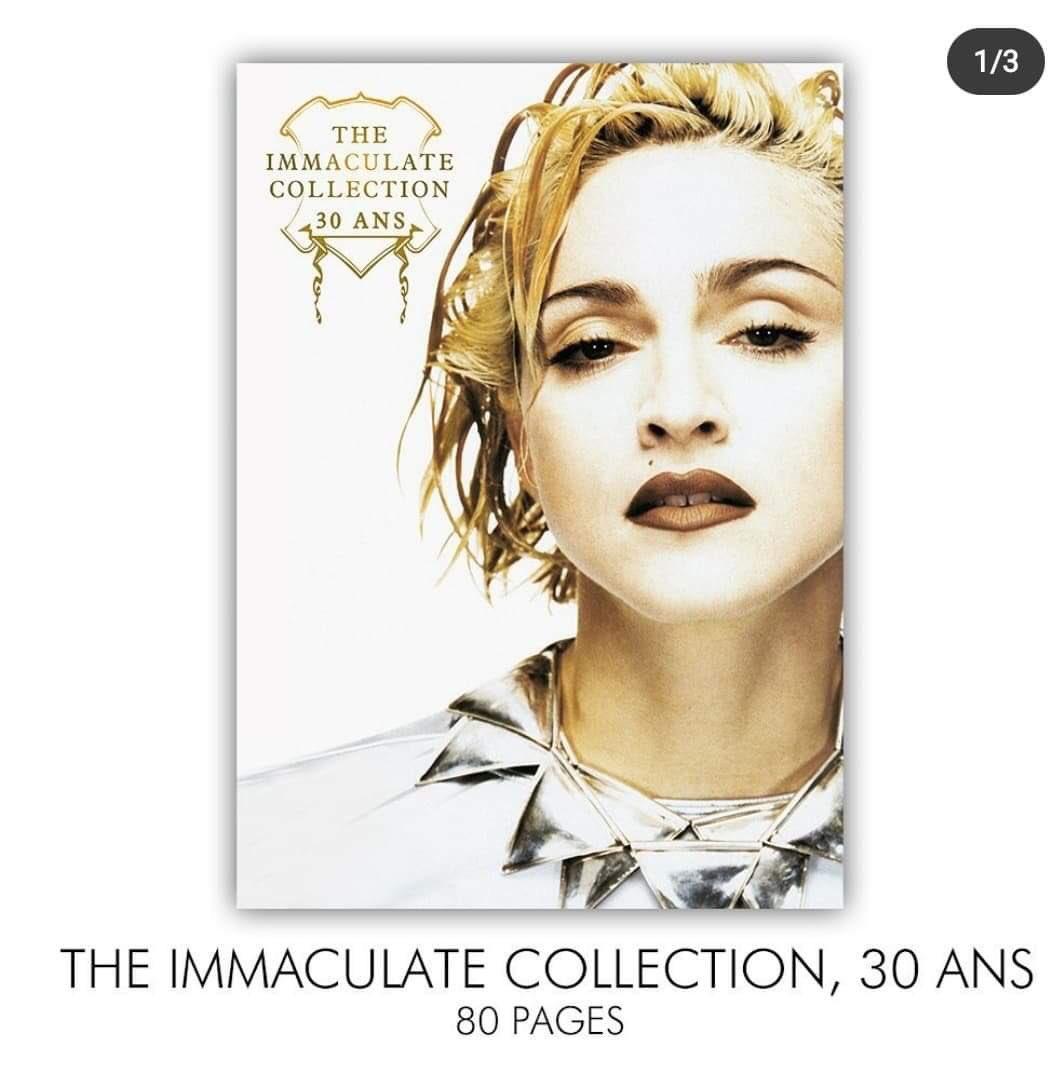 ALERTE #Madonna #ImmaculateCollection #Birthday #30Years #HappyBirthdayMadonna @Madonna @guyoseary @DJTracyYoung @maluma @SKstudly @ricardogomez10 @debimazar @TheEllenShow https://t.co/D3PPcGD3mB