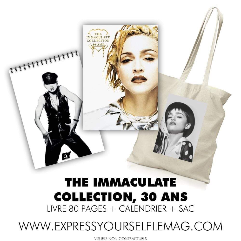 @Madonna #ImmaculateCollection #30Years special issue collector https://t.co/i7l0Sg3QeH