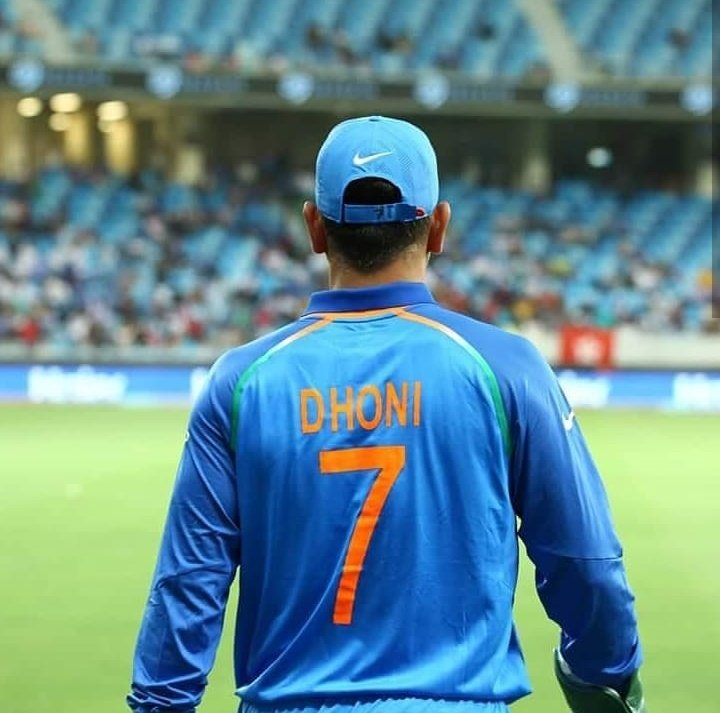 In honor of the best captain Team India has ever had Jersey No.7 should retire too with @msdhoni. That spot is taken for eternity ❤ Indian cricket will not ne the same without you ❤ https://t.co/bpn8hBOxwQ