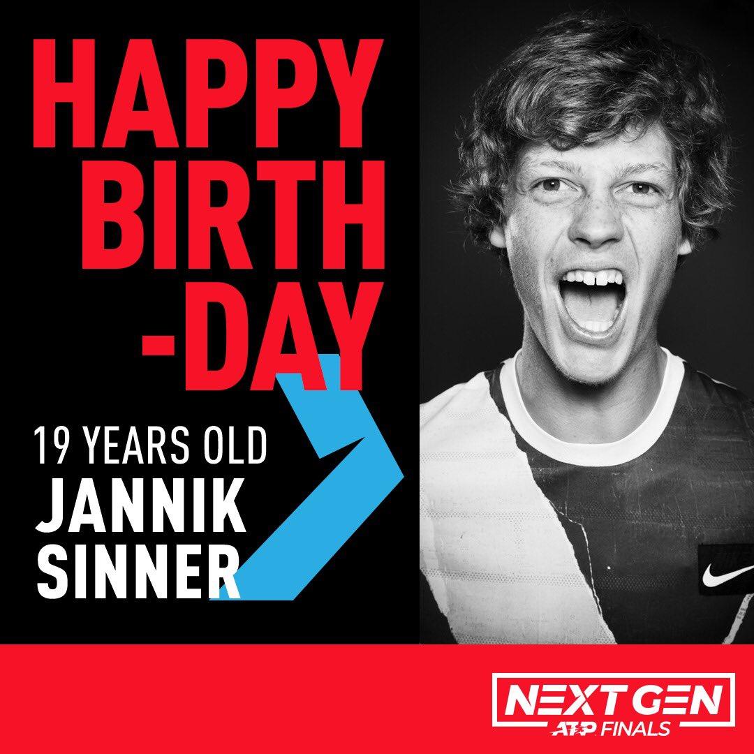 Happy Birthday to our 2019 🏆 Champion @janniksin !!   #NextGenATP | #SeeTheFuture https://t.co/TkkorxpEsI