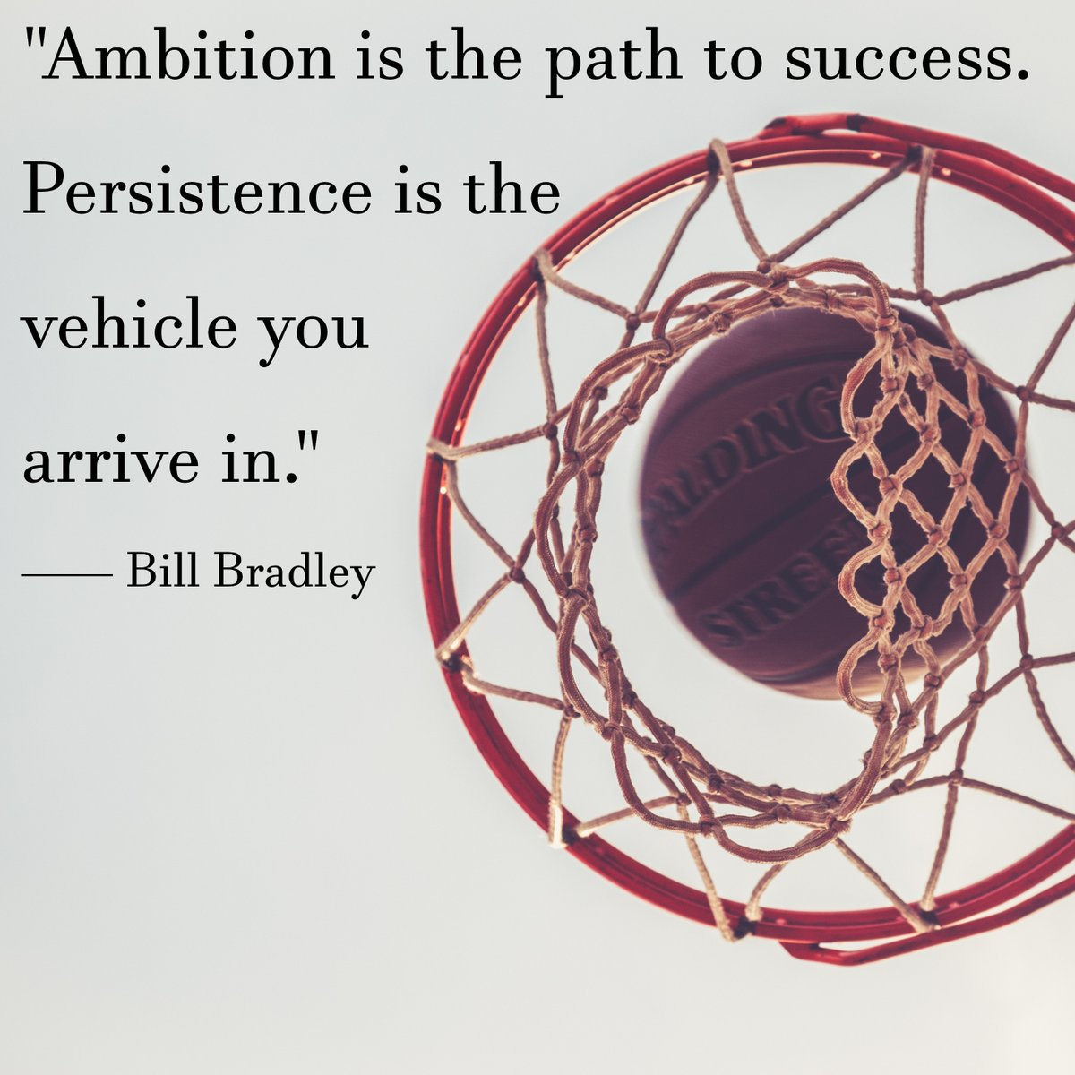 #Persistence paves the way to #success.  #basketballislife #basketballlovers #basketballquotes #billbradley https://t.co/DWEPxVCI42