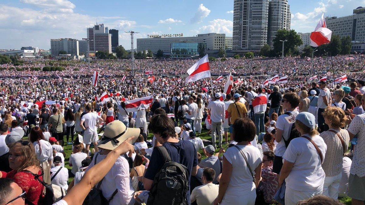 Беларусь. Воскресные митинги…