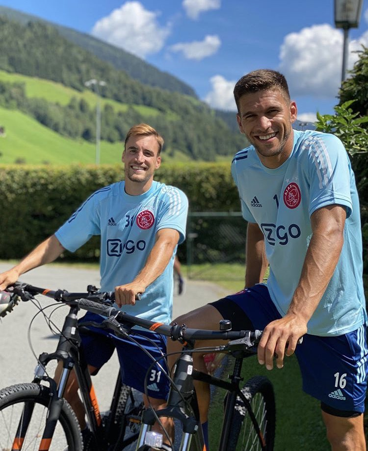 Primeros días entrenando en Austria.  ⚽️🚴🏼‍♂️🇦🇹  First days in our training camp in Austria. https://t.co/n3gBhBvov8