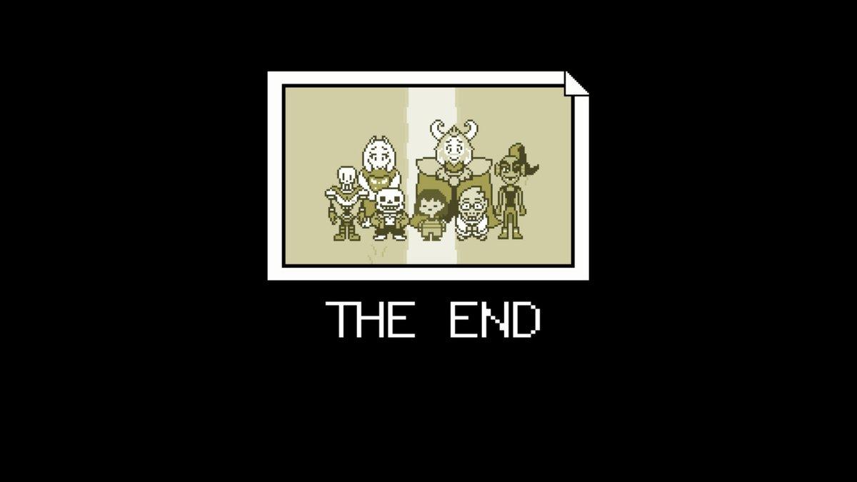 UNDERTALE、不殺N→Pクリアしたよ!途中からあまりにも死にまくって攻略サイトさんのおんぶにだっこでめっちゃ助けてもらった・・・本当にすみません・・・ありがとうございました・・・!! 話が良くて何度もじ~ん・・・ときて良かった・・・#NintendoSwitch