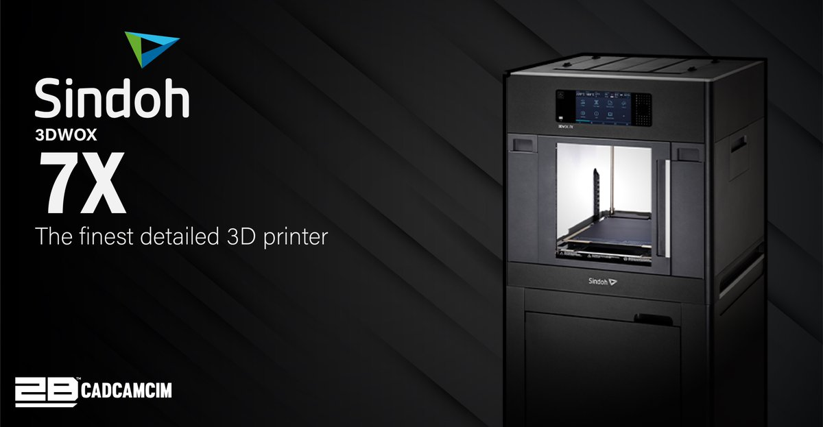 SINDOH 3DWOX 7X The Finest detailed 3D Printer  Place your order NOW: UAE+97145081501  KSA+966538452813 #2BCADCAMCIM #SINDOH #7X #Industrial3dprinter https://t.co/yKGviAGQvj