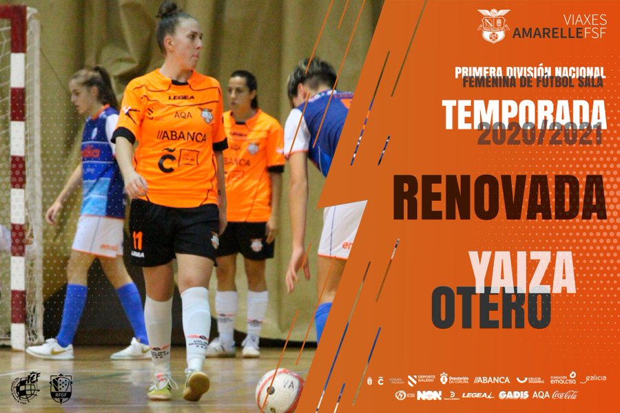 Segunda temporada consecutiva en el Viaxes Amarelle FSF para Yaiza Otero, que volverá a la Primera División Nacional Femenina FS