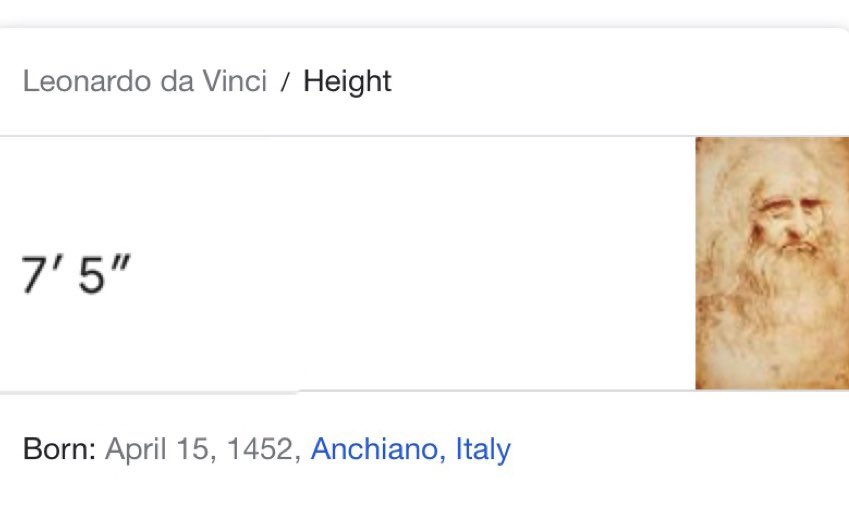 Leonardo da vinci was 7'5???? Mf was dominating the wrong paint😤 https://t.co/sJ04ThBEOm
