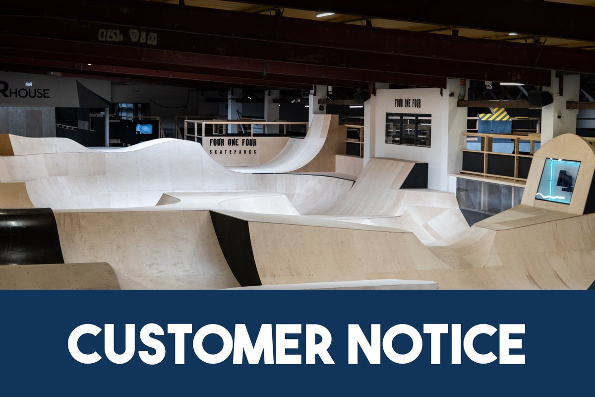 ⚠️Customer Announcement⚠️  Due to flooding caused by extreme rainfall we have had to close for this evening's session. Anyone that has booked will be refunded. We apologise for the inconvenience. https://t.co/MhyluedUdN