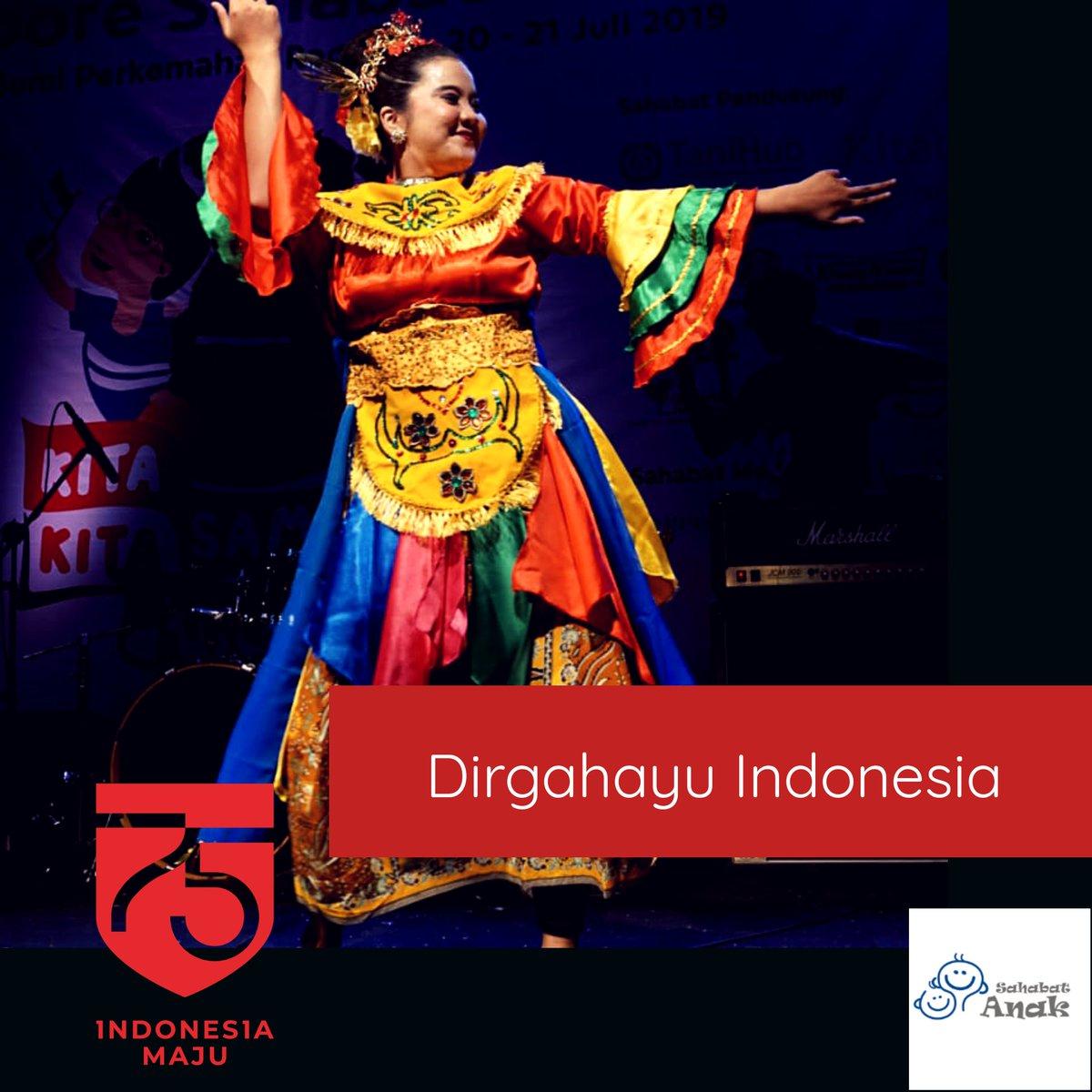 Kiranya semangat KEMERDEKAAN menginspirasi kita untuk terus berjuang agar anak-anak Indonesia:  ✔ Merdeka dari segala macam bentuk kekerasan ✔ Merdeka dari berbagai diskriminasi ✔ Merdeka dari kebodohan  #merdeka #indonesiamaju #DirgahayuRI #gerakansahabatanak https://t.co/Ur5vxuBHXL