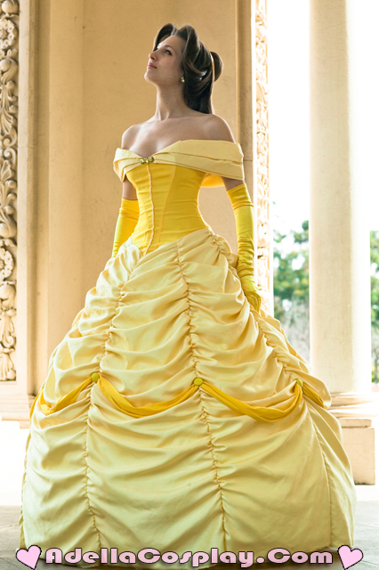 Adella In I Da Ho On Twitter I M Focusing A Lot Today On My Etsy Listings I Am Moving So I M Having A Cosplay Moving Sale Belle S Yellow Ballgown Is Now For