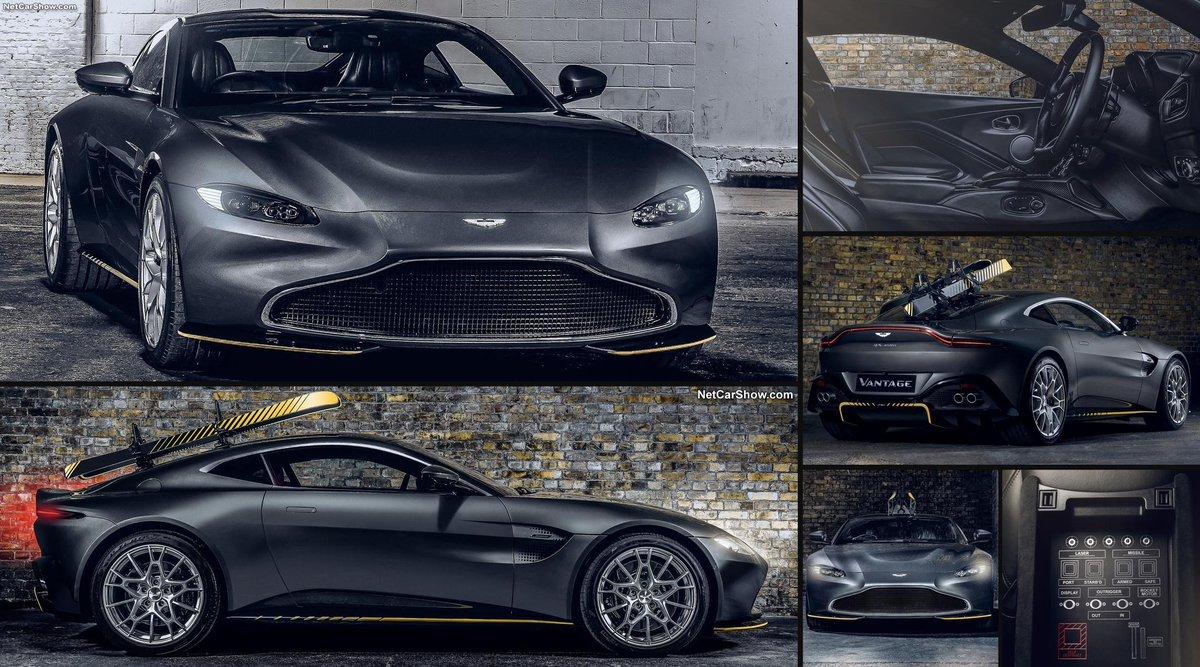 Netcarshow Com On Twitter 2021 Aston Martin Vantage 007 Edition Https T Co Vdstqnphu9