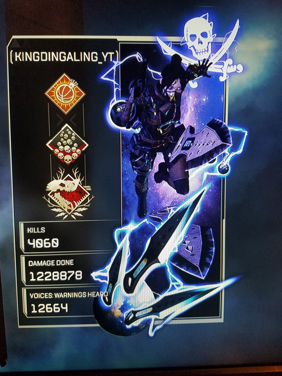#ApexLegends I'm about to get back on the grizzy...@Respawn Season 6 will be my best season yet. And, I'm gonna start streaming EVERYDAY!!🤞🤝👏