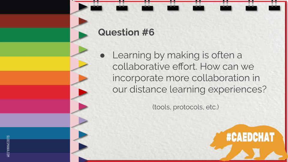Here's question 6 #caedchat https://t.co/9vmPjdxd2C