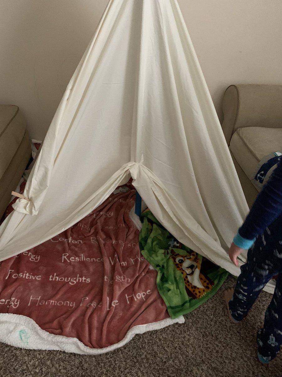 Mornings of blanket fort . #momoflittles #blanketfort #boymom #blessed https://t.co/lgjaglOpTc