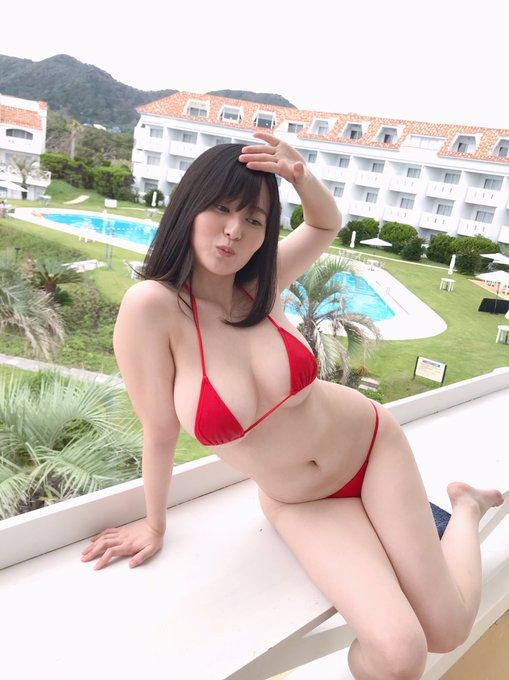 グラビアアイドル未梨一花のTwitter自撮りエロ画像19