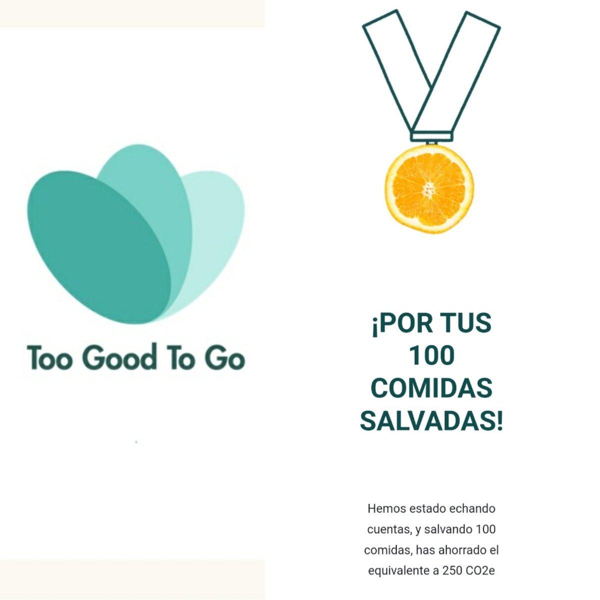 #Buenosdias Empezamos la semana con una gran noticia: ¡Ya llevamos salvados más de 100 desayunos en #ToGoodToGo ! #Gracias y recuerda que tú también puedes ayudarnos en nuestra guerra contra el desperdicio de alimentos. #Ibisbudget #alcorcón #móstoles https://t.co/M86qRcXwR5