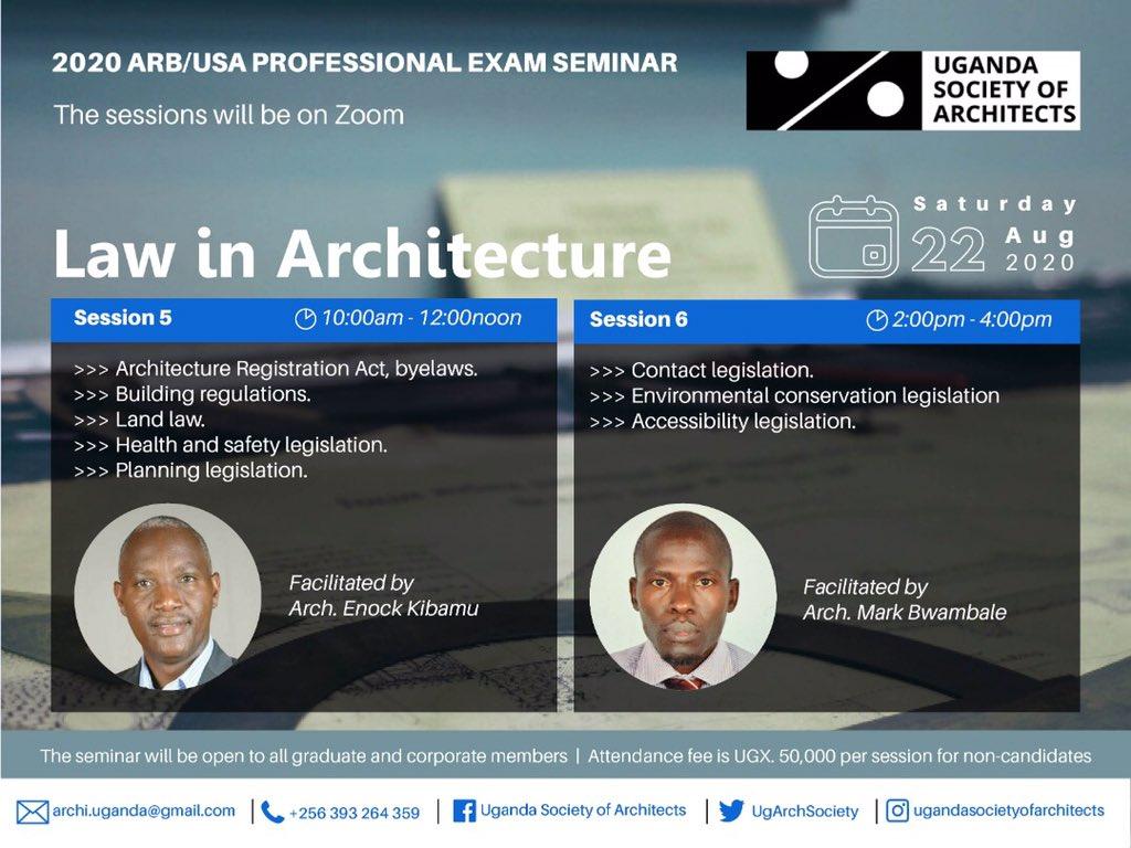 Do you know what the Law says about the built environment? Join us this weekend to learn more! @JacintaKabs @UIA_Architects @ARBUganda @architectandre @Arch_KE @RIBA @besa_fobe @KKCONSULTINGAR1 @IAZimbabwe @ArchForumUganda @rwadanladies @ArchSsinab @AUA_UAA @WanyangaStephen https://t.co/7epsS8R8pG