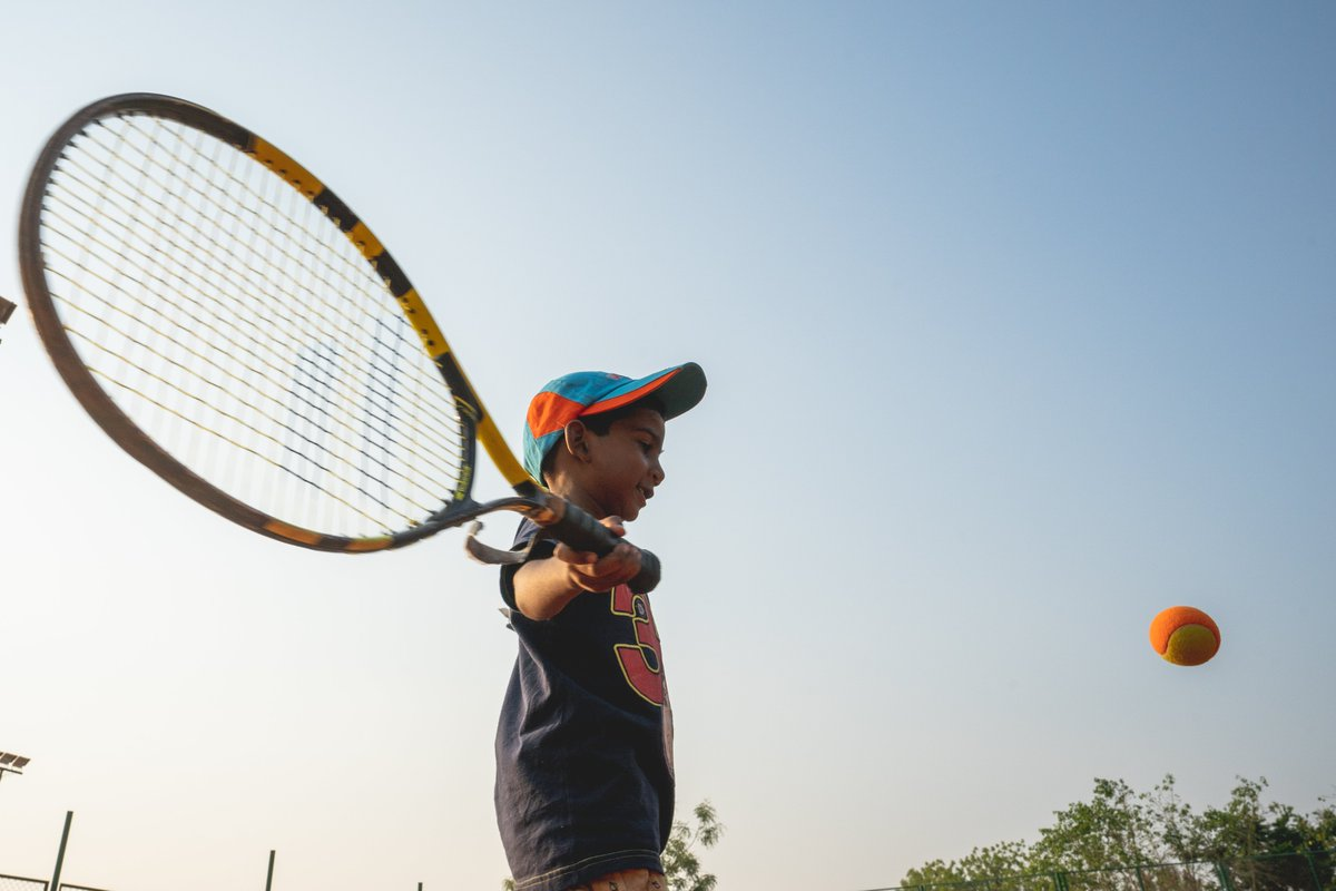 This year marks 10 years of our partnership with @frnadal.  Nadal Educational and Tennis School (NETS) at ASV has been helping children in Anantapur since 2010 by aiding in their holistic development through #Tennis, Nutrition, English and Computer Classes. #10YearsOfNETS https://t.co/j1zWYLpArG