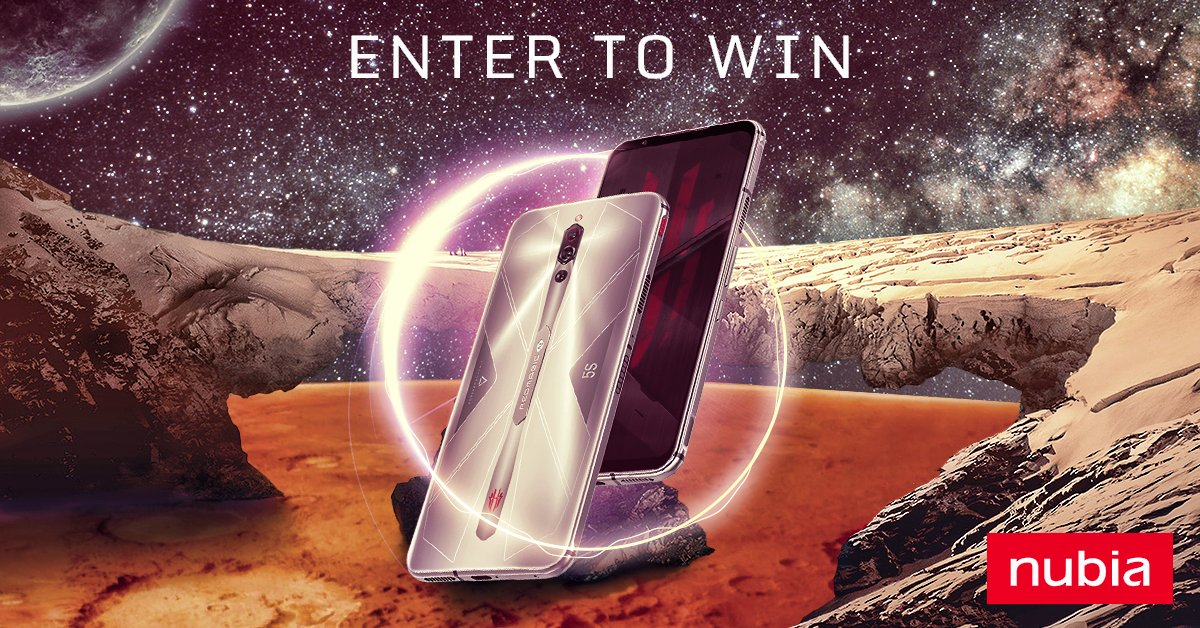 There's only two days left for the RedMagic: 5th Space event! But it's not to late to still take part for a chance to win a new RedMagic 5S! So jump in and quickly fill out the tasks for the 50 entries needed to qualify for the lucky draw! https://t.co/zhBxUXOUGG https://t.co/GVFqZ6NWcM