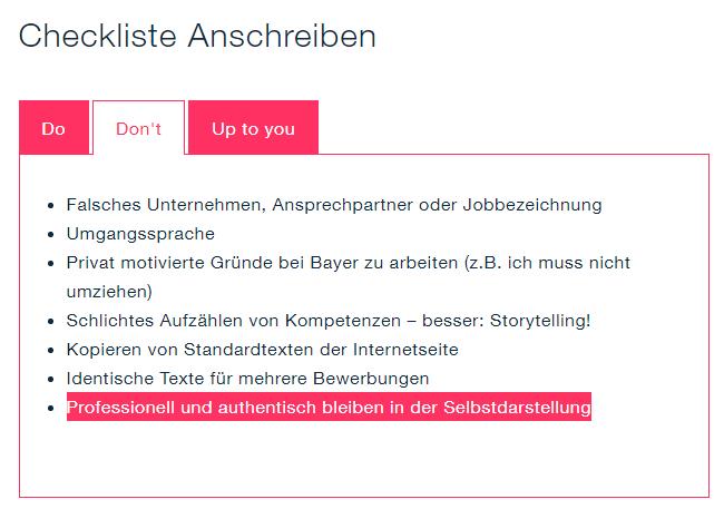 Bayer Bewerberguide Bewerbung Youtube 0