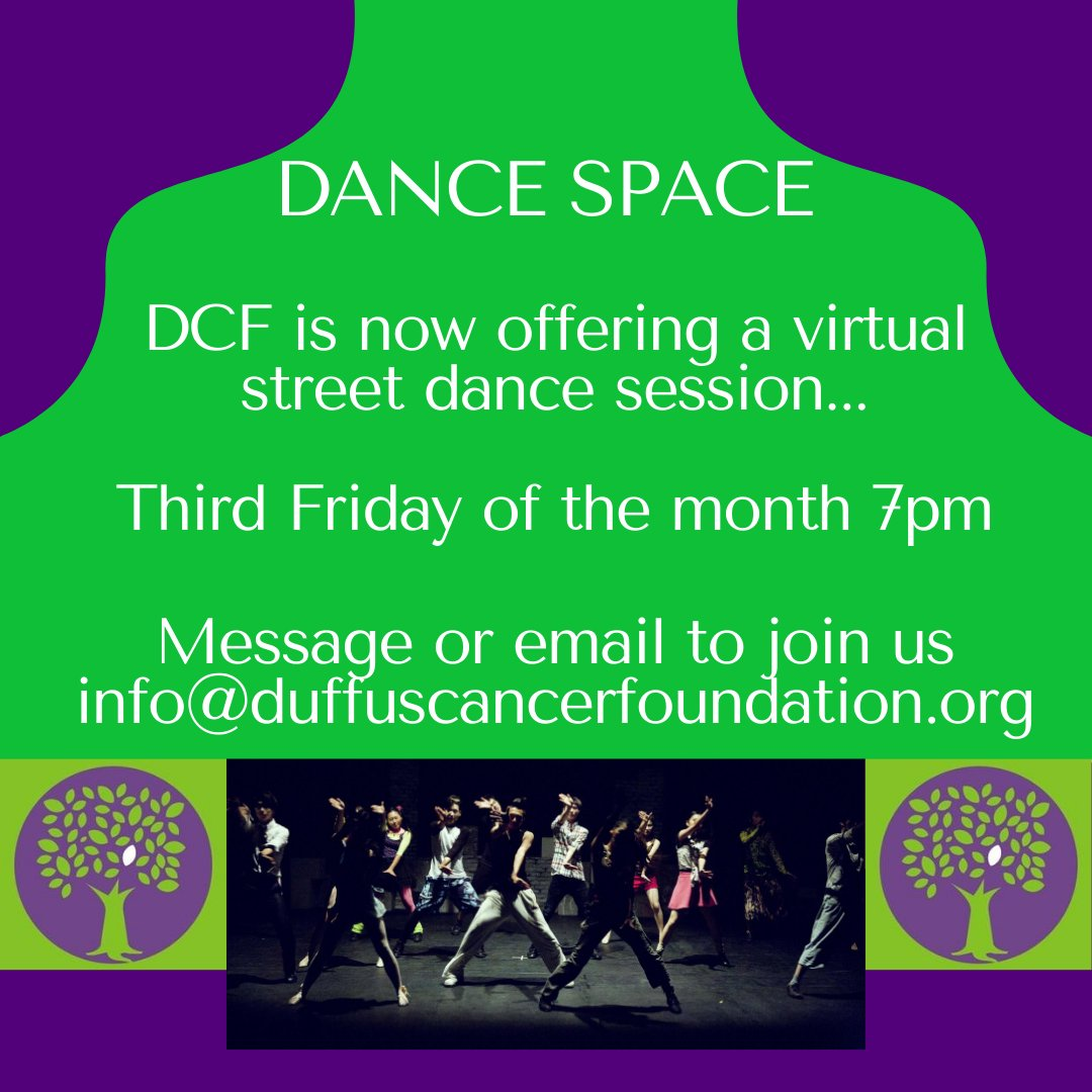 🙌🏽 Dance space this Friday 🙌🏽 Running on the third Friday of the month! 💃💃  If you want to get involved, DM us or email on info@duffuscancerfoundation.org  #dance #suttondance #croydondance #communitydance #mertondance #croydonyouth #croydon #Croydontogether #31DaysOfYOUth https://t.co/XgvJMVOk3B