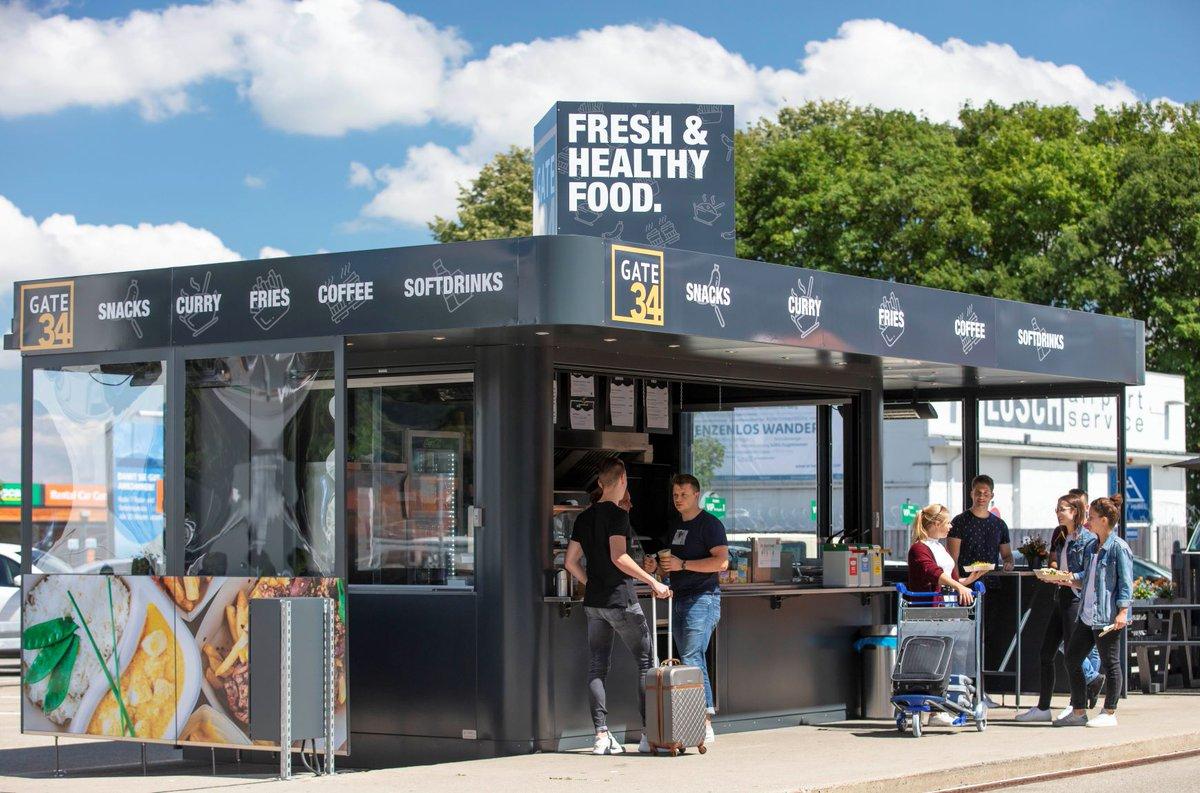 Leerer Kühlschrank nach dem Urlaub? Kein Problem! Der neue Gate34 Imbiss gegenüber dem Terminal versorgt euch mit leckeren Snacks und Getränken vor der Weiterreise nach Hause und natürlich auch vor eurem Abflug. #memmingenairport #flyfmm #gate34 #deinairportinderregion https://t.co/w7s3fhDySS