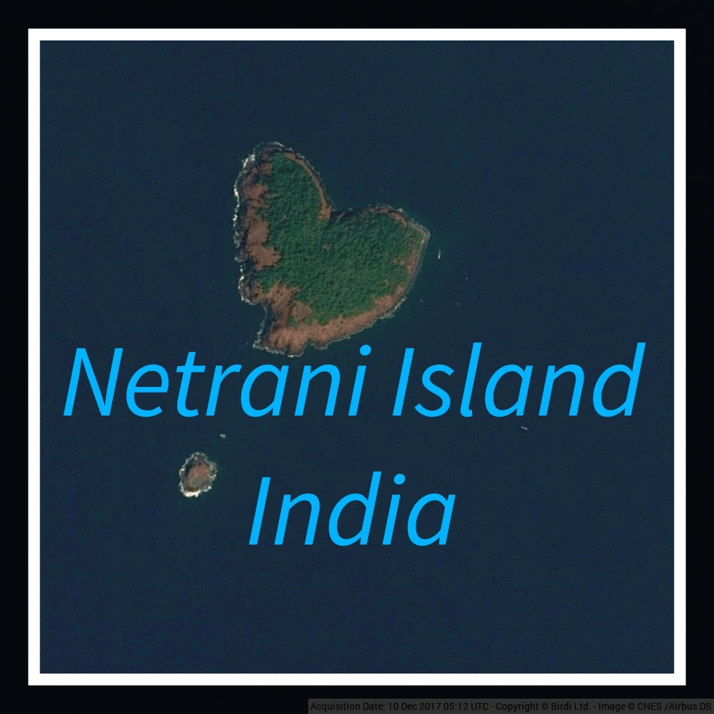 Netrani island is a small island of #India located in the Arabian Sea. Views above give this island the appearance of being heart shaped. This island has scuba diving facilities  Photo courtesy-Twitter #NetraniIsland #heartshapedisland #travel_journey #traveljourney #naturelover https://t.co/Qg8W6ebEs2