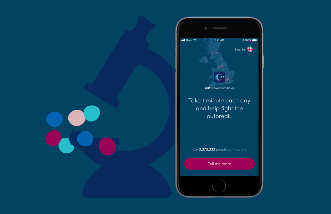Take 1 minute daily to report your health using the #COVIDSymptomStudy app 📱  Tag a friend in the comments and protect your community by helping us identify potential #COVID outbreaks earlier  Download the app ⤵️ iOS - https://t.co/5mDCJ26GUt Android - https://t.co/p9az2jT1Xu https://t.co/wKcypR3Yfx
