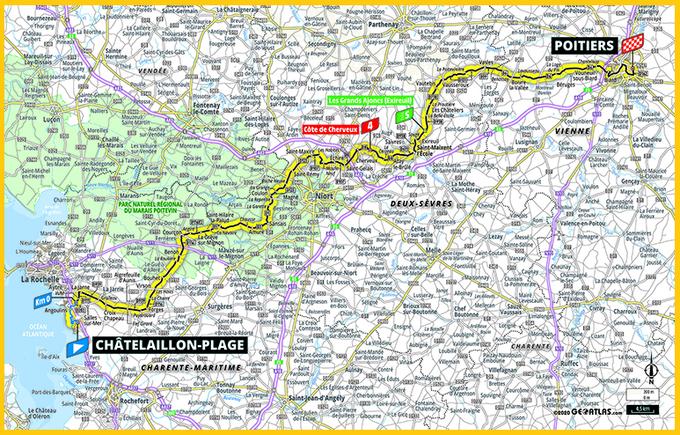 Carte Poitiers