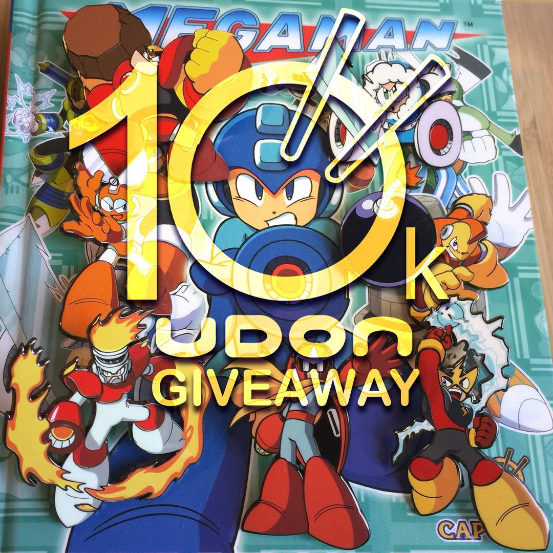 We've hit our 10,000th Tweet! Time for a #MegaMan  #Giveaway!   Grand Prize - 7 Robot Masters Pins + the Field Guide! 2 runners-up will each get the book!   Enter To Win:  - Like & RT this Post   - Tag a Friend - Follow @UDONEnt  🍀Winners picked 8/24!🍀 #MegaManMonday