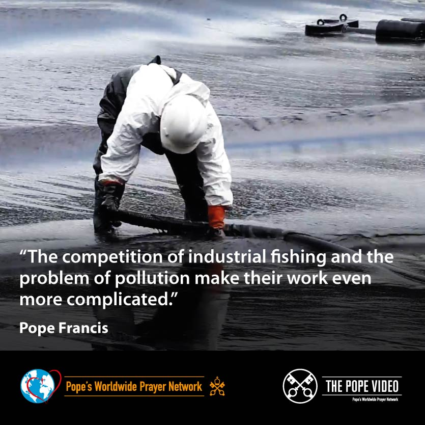 Whether the weather is good or bad, @Pontifex tells us, fishermen go out to do their job while their families take part on land in the hardness of their life. #ValuePeople #ThePopeVideo #PrayForSeafarers @StellaMarisOrg youtube.com/watch?v=PVOf65…