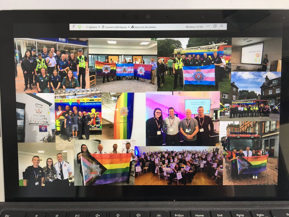 Just going through the presentation for tonight. So proud of all we've done 🏳️‍🌈