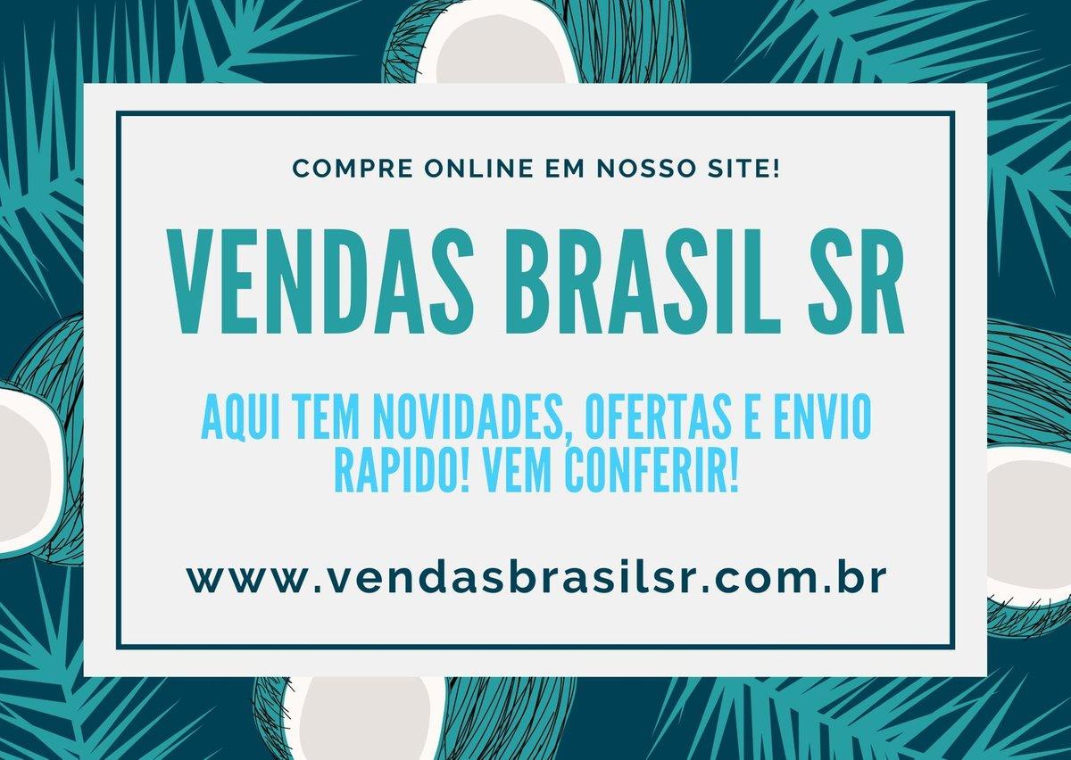 Faça as suas compras online em nosso site, é rapido, facil e seguro. Envio rapido para todo Brasil.   Acesse: https://t.co/q4fI6aPPU3 Redes Sociais: @vendasbrasilsr  #lojaonline #novidades #brinquedos #presentes #utilidades #compras #vemconferir #loja #diversao https://t.co/eE9WVUZ0Ge