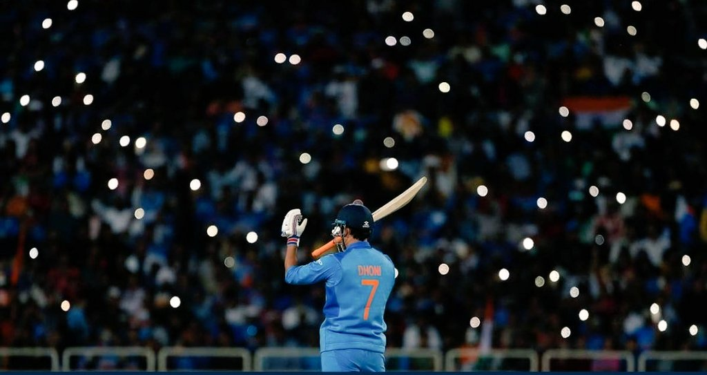 #DhoniThePrideOfIndia You have been & will remain an inspiration to youth of our country as many have been trying to imbibe the way you carry yourself both on & off field. Looking forward to ur second innings, our love and support for you will always remain the same. @msdhoni ❤️ https://t.co/TenwUjmkVT