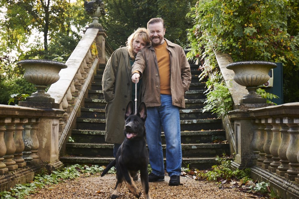 The first two seasons of #AfterLife have notched up 72 million views. Most watched British Comedy in the world 2 years running.