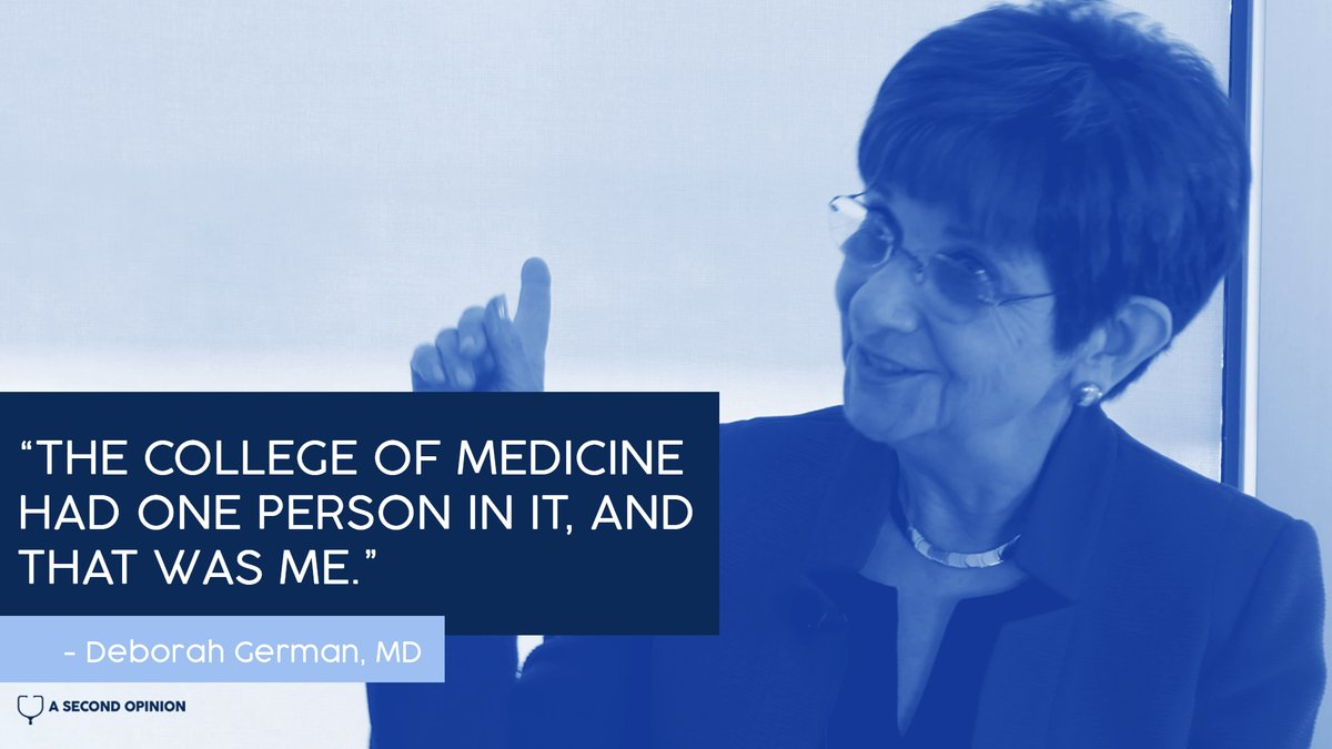 Dr. Deb German built @ourmedschool from scratch – making it one of the first U.S. medical schools in decades to be built from the ground up.  Hear her inspiring story on this week's @ASOpodcast episode:   https://t.co/EsIlnE6kzl  #UCF #MedStudents #MedStudentTwitter #healthcare https://t.co/5LlI2xxzTU