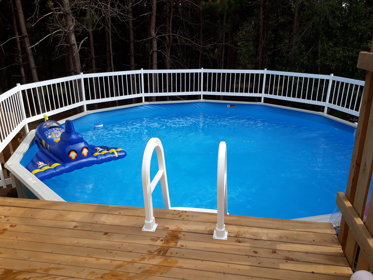 Who wants to take a dip? 💦   Thank you Holly M from Brooklyn Corner, Nova Scotia. They ordered a Reprieve 18 foot round #pool with Hayward Pump/Filter, Snap Lock Ladder, and full pool fence. 😊 [https://t.co/4WHoqatm6o] #PoolSupplies #Pools https://t.co/X8MxmPGQvP
