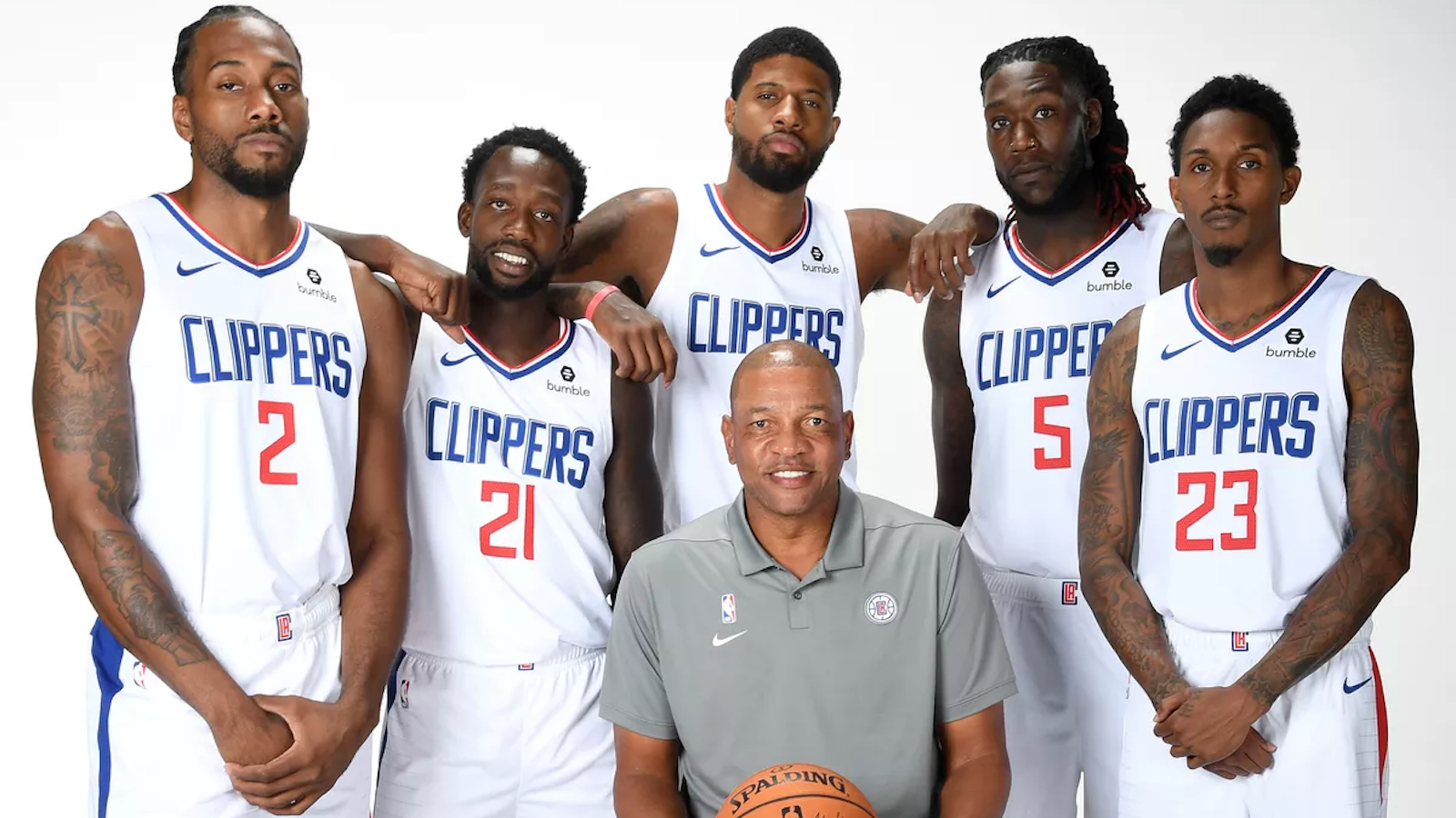 """Justin Kubatko en Twitter: """"The Clippers have only had 24 games this season  in which Kawhi Leonard, Paul George, Lou Williams, Montrezl Harrell, and  Patrick Beverley all played. L.A. is 20-4 in"""