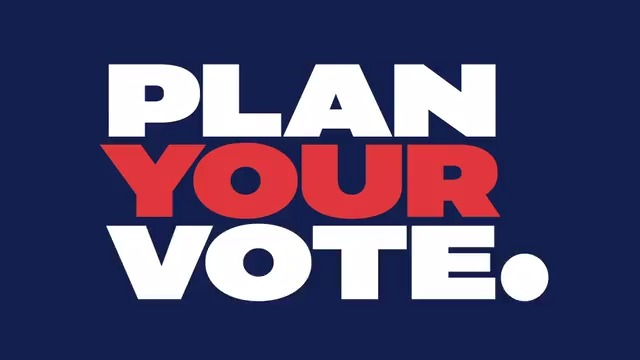 """This year, """"how"""" you vote is just as important as """"who"""" you vote for. Plan Your Vote with the new state-by-state interactive guide from @nbcnews. #PlanYourVote  For more information, visit"""