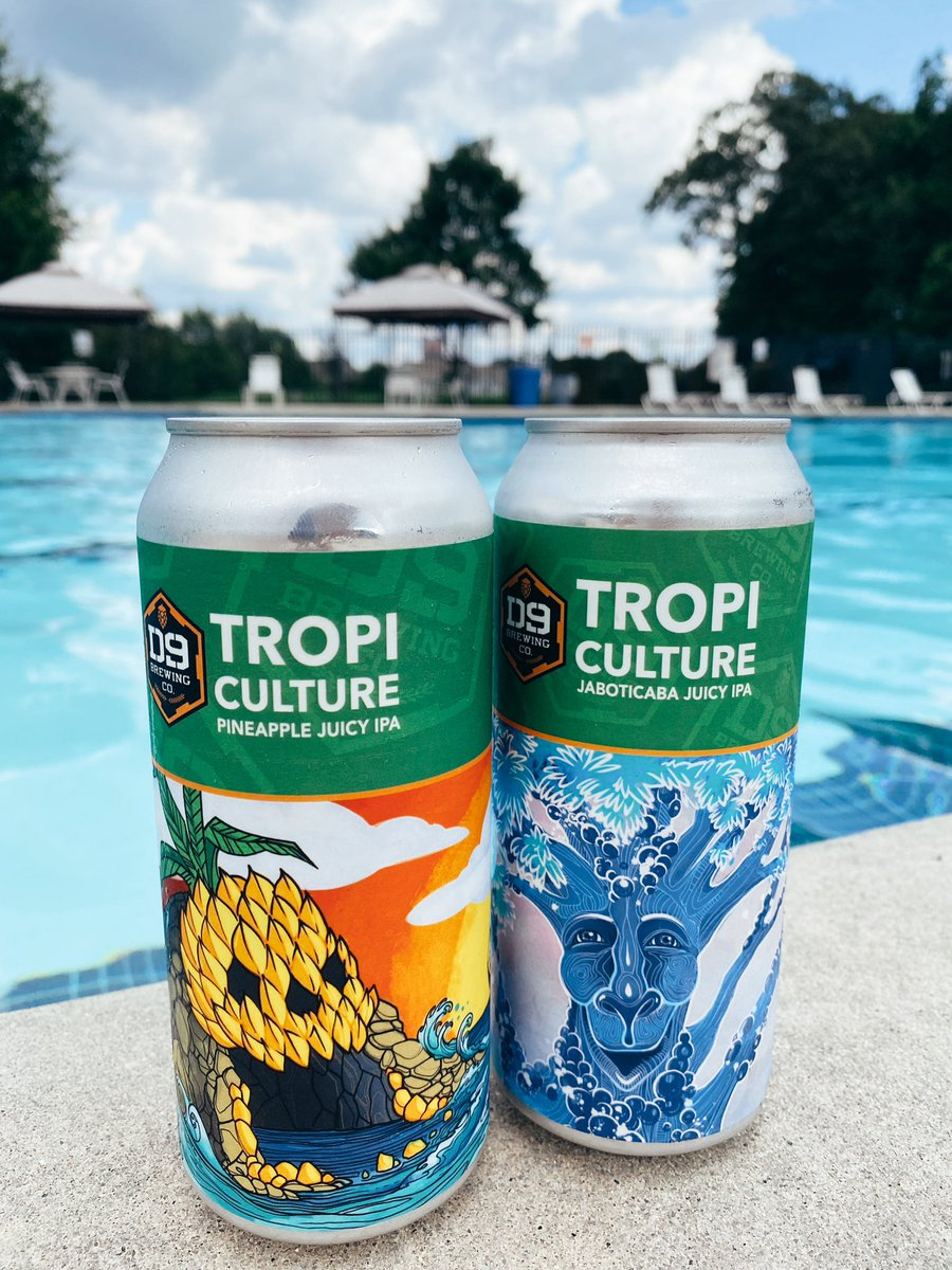 We enjoy our TROPICulture Poolside ☀️ where is your favorite spot to enjoy your D9 brew? 🍻 https://t.co/xkynfEbzil