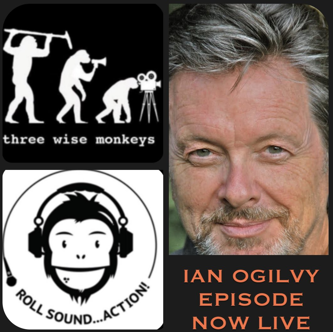 NEW EPISODE of 'Roll, Sound.. Action!' Hes been a saint (in, erm, The Saint). Hes been a sinner (in our very own We Still Kill The Old Way franchise). He stole the show as a bounder & bully in #RippingYarns .. He is @OgilvyIan podcasts.apple.com/gb/podcast/rol… #podcast #podernfamily