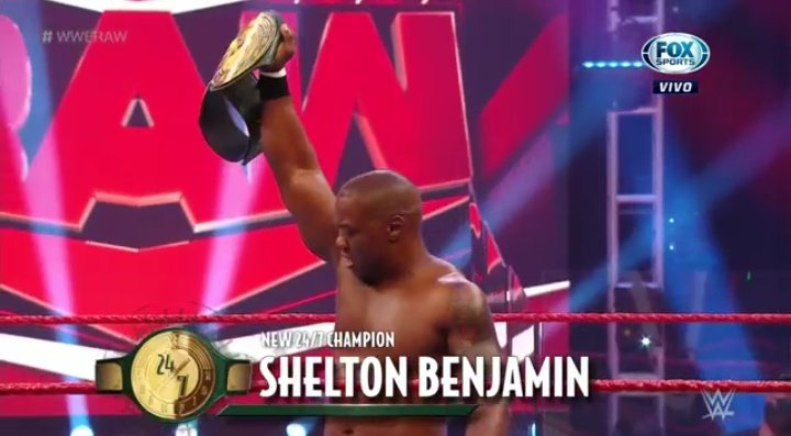 Shelton Benjamin Regains The WWE 24/7 Title On Tonight's RAW (Video)