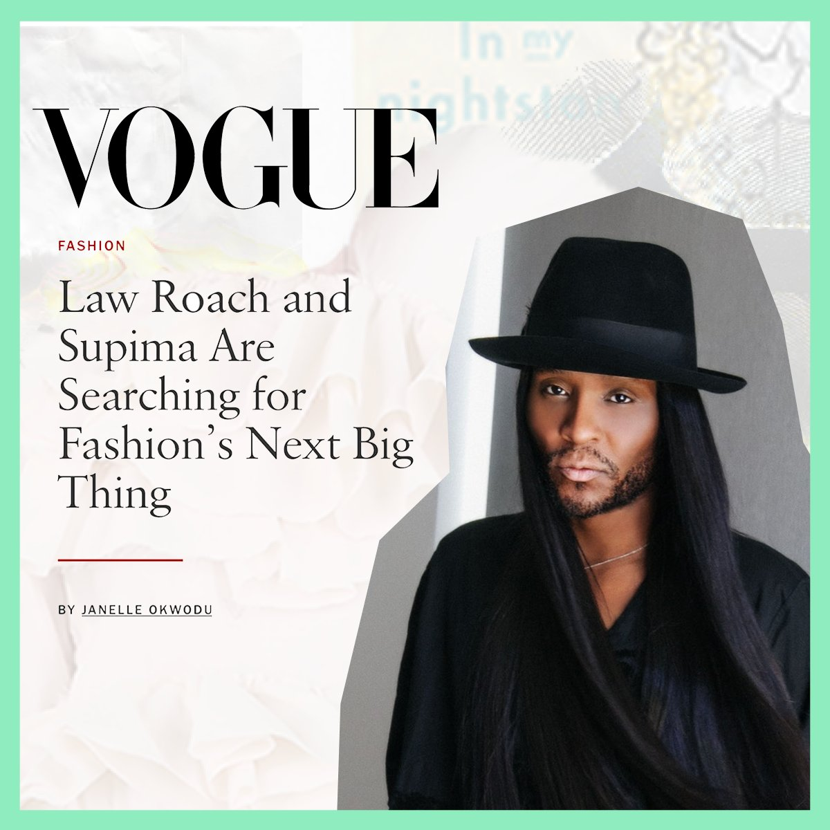 Introducing our host for the 13th Annual #SupimaDesignCompetition: @LUXURYLAW, Image Architect. Read the full story by @voguemagazine and then tune in on 9/10 @3PM ET here for our first virtual show on Instagram LIVE.