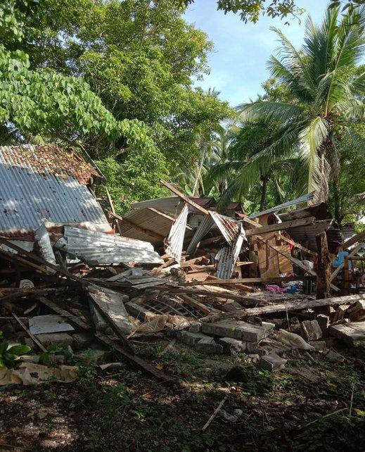 Sismo en Filipinas de 6.6 grados y ha habido más de 14 réplicas